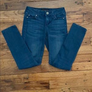 Blue denim kids jeans